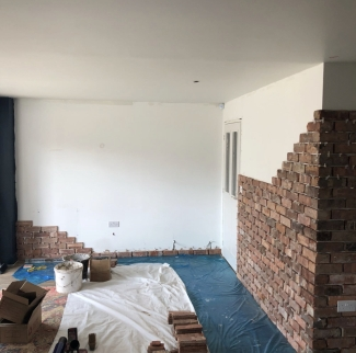 Just Walls Tiling Brick Slips Stone Veneer Fitters